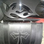 Victory Vegas Bike Vision detachable saddlebag bracket